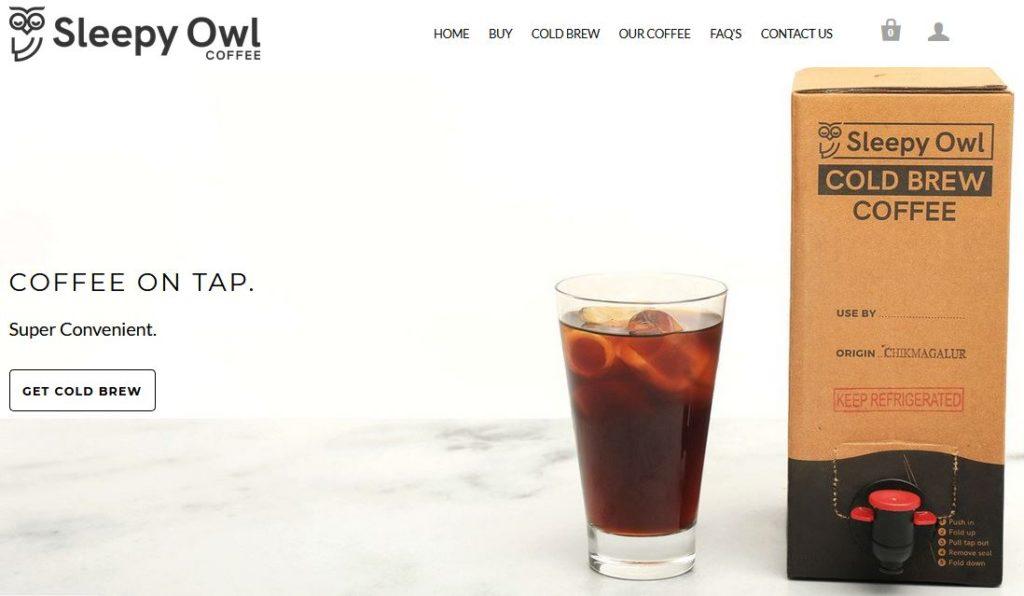 Unique Cold Coffee Business Idea Online