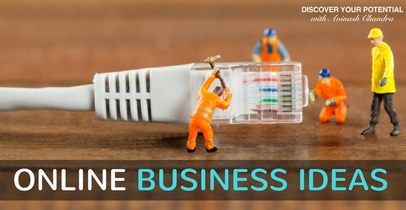 Online startup ideas India