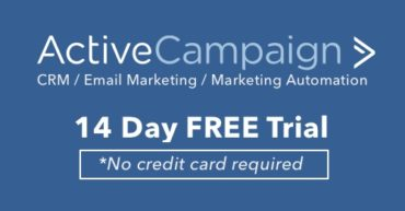 deal - Active Campaign 14 day Free trial