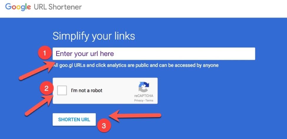 How Google Shortener works