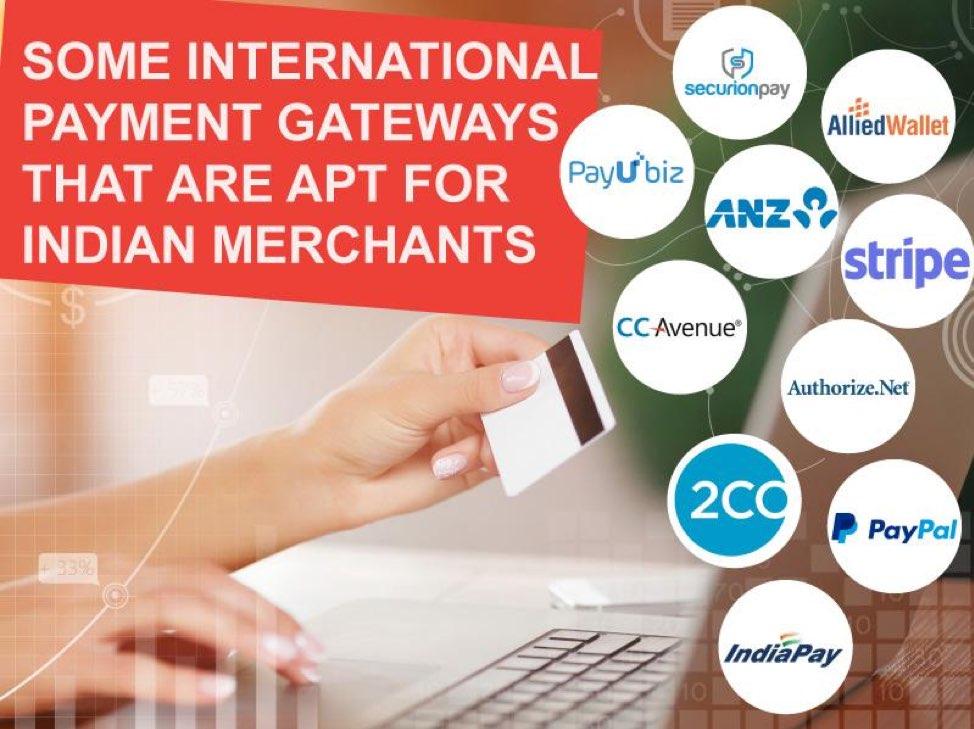 Top 10 International Payment Gateways for Indian Merchants