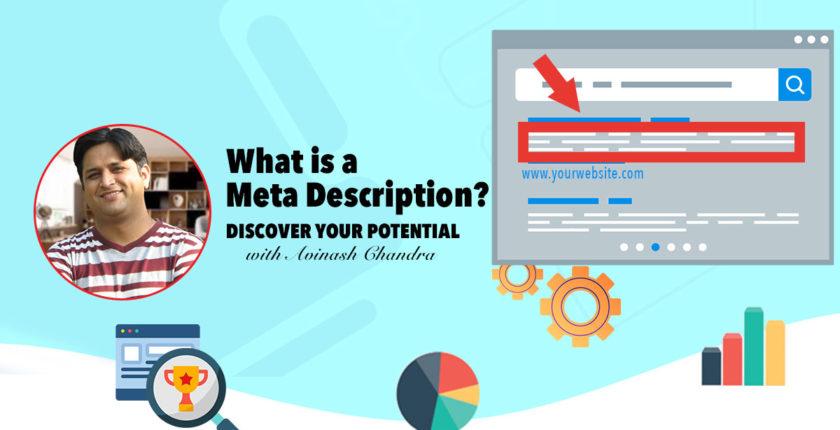 WHAT IS A META DESCRIPTION