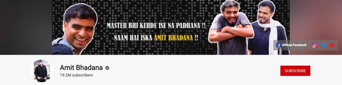 comedy youtubers india ASHISH BHADANA