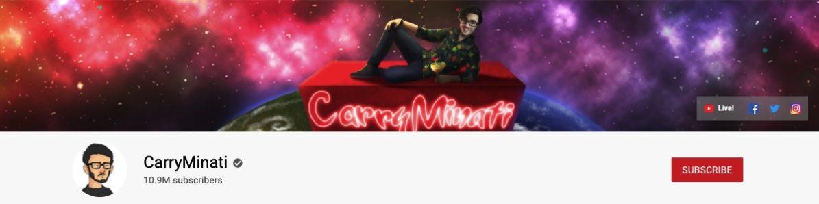 top 10 youtubers in india 2018 carryminati