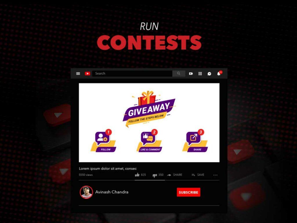 Run contests