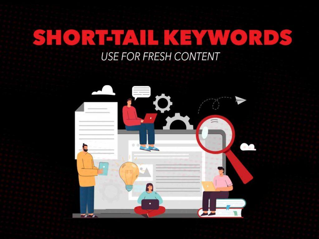 Short-term fresh keyword